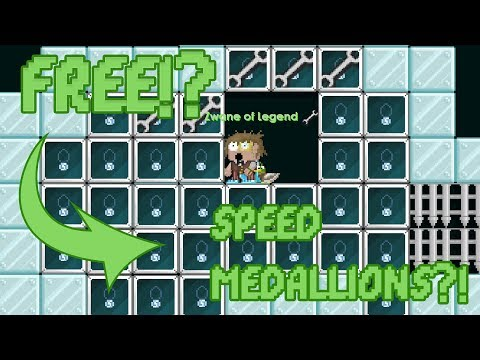 HOW TO GET FREE SPEED MEDALLIONS! | Growtopia