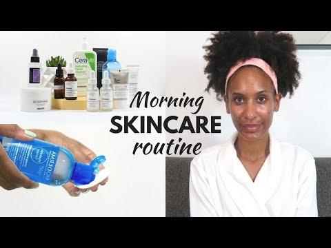 My Morning Skincare Routine (oily, acne prone skin)
