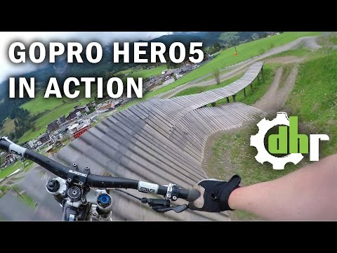 GoPro Hero5 Black: Mountain Bike Park Leogang. Video Stabilization, Wind Noise