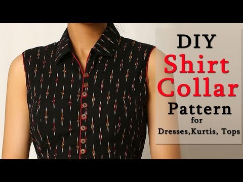 How to Make Shirt Collar | Shirt Collar Pattern in a Professional Way