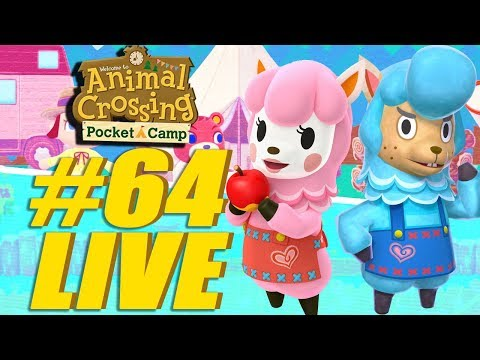 Net Bugs and Chill! Animal Crossing: Pocket Camp Live Stream