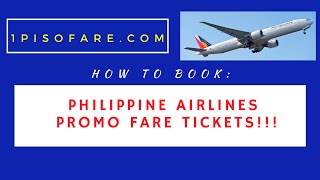 How to Book Philippine Airlines Promo Fares 2020