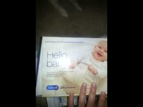 Free Baby Stuff- Unboxing!! Enfamil