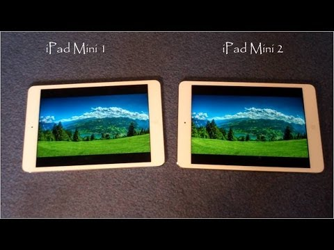 iPad Mini 1 vs iPad Mini 2 :Comparison
