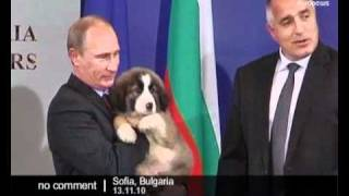Putin visits Bulgaria - no comment