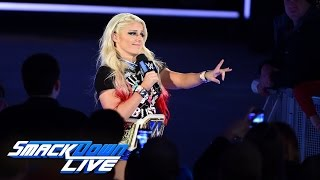 Alexa Bliss sets out to mock the returning Naomi: SmackDown LIVE, Jan. 24, 2017