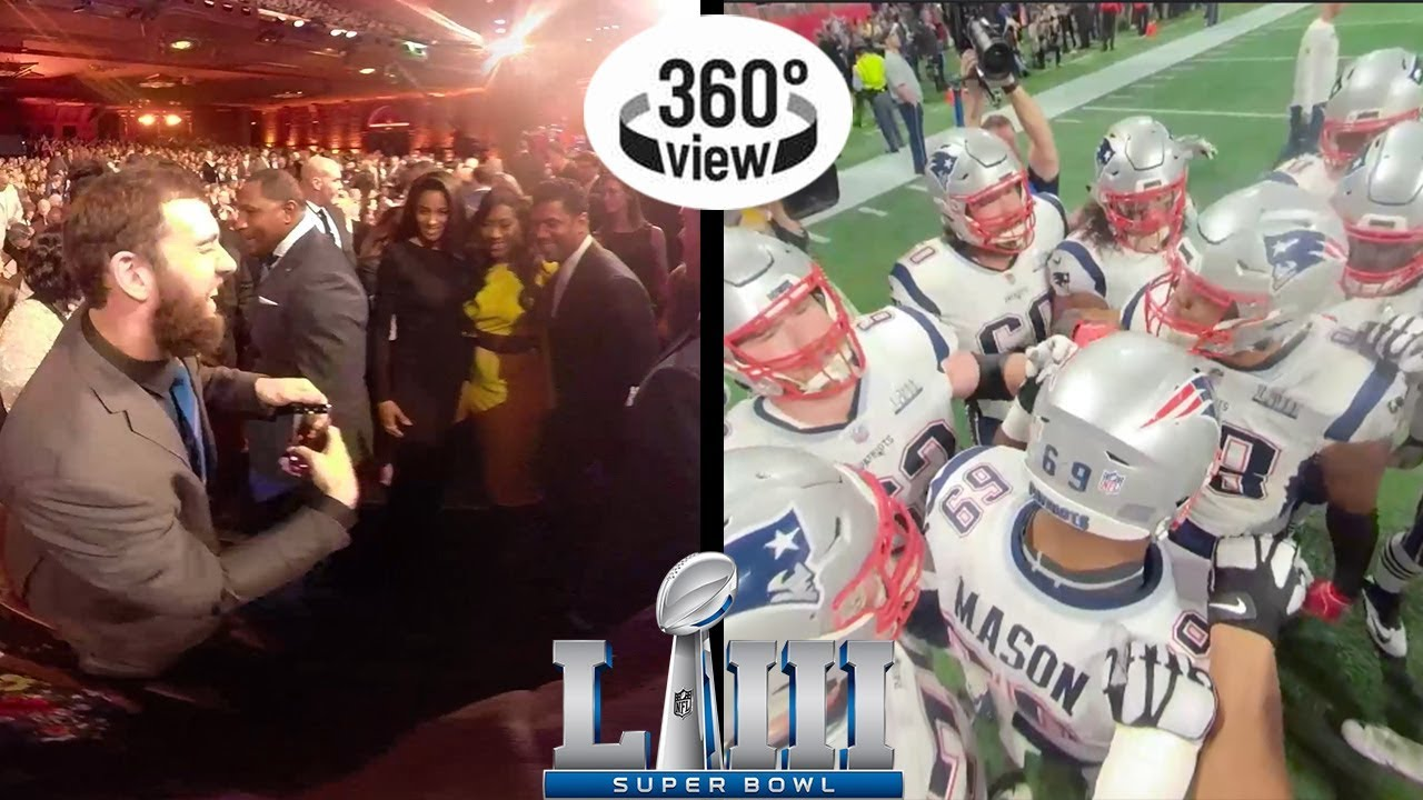 Super Bowl LIII Week All-Access in 360º: Media Night, Honors, & More!