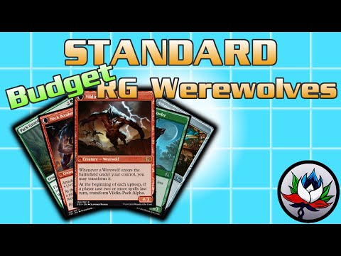 "MTG – R/G Werewolves ""$20 Budget"" Tribal Standard Deck Tech for Magic: The Gathering!"