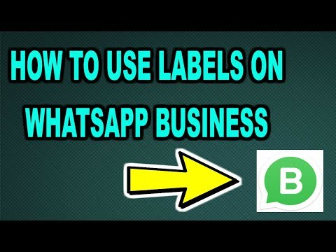 How to Use WhatsApp Business LABELS | WhatsApp Business LABELS