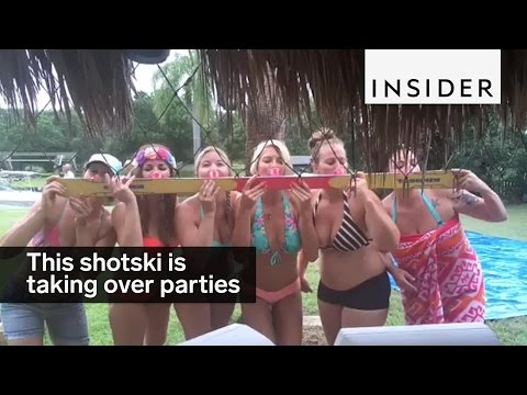 This shotski is taking parties by storm
