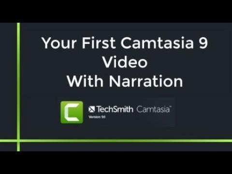 Camtasia 9 Tutorial: How to Make a Video with Voice Over Narration (Complete Guide)