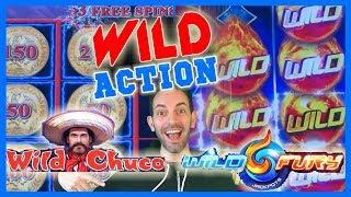 WILD Action with WILD Chuco + WILD Fury + Jason! ✦ Brian Christopher Slots