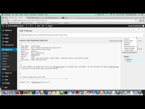 Wordpress Tutorial   How Make all Videos and Images Responsive Fast   Easy