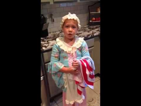 Fallon as Betsy Ross take 2