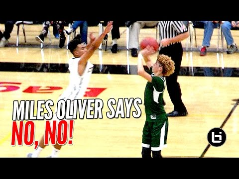 LaMelo Ball's Half Court Shot BLOCKED By Miles Oliver! LaMelo Then Throws SICK No Look Pass After!