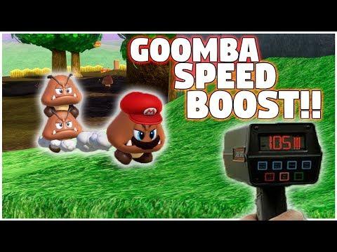 GOOMBA SPEED BOOST FOUND!! (Super Mario Odyssey)