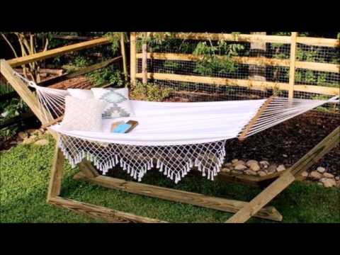DIY Standing Hammock Free Stand - Step By Step Tutorial