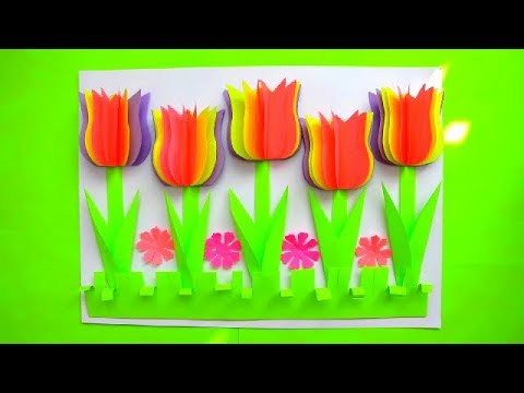 How to Make - Easy Greeting Card Mother's Day Birthday - Step by Step