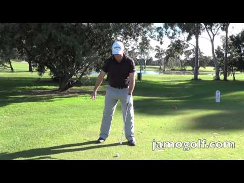 (Golf lesson) A simple way to achieve perfect posture for golf