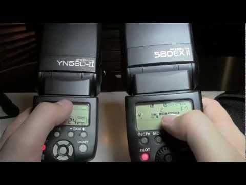 Canon 580ex II vs Yongnuo YN-560 II - DSLRnerd.com