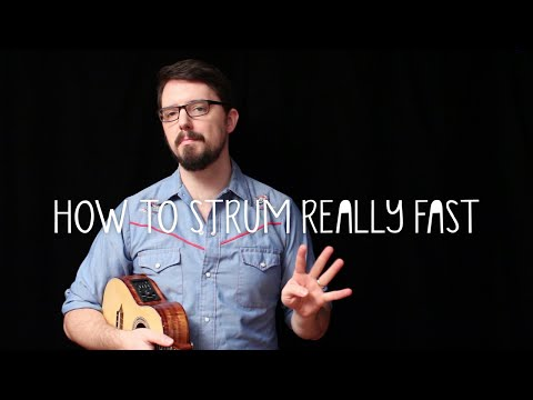 How to Strum Really Fast - James Hill Ukulele Tutorial