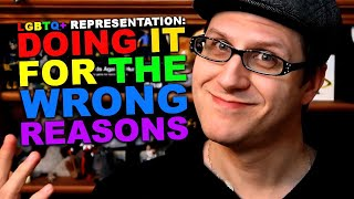 """When LGBTQ+ Representation Happens for """"The Wrong Reasons"""""""