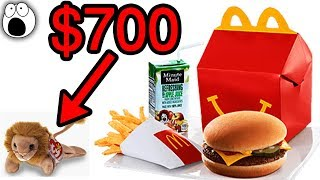 Top 20 Happy Meal Toys That Are Now Worth Serious Money