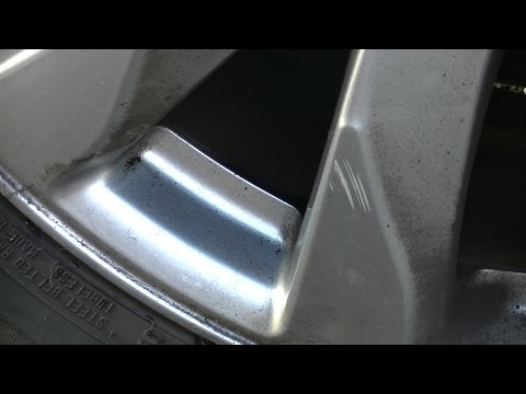 How to clean a pitted aluminum rim
