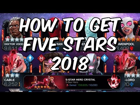How To Get Five Star Champions 2018 - Five Star Shard Farming Guide - Marvel Contest Of Champions