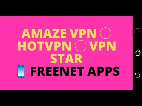 Android free VPN apps feat. Amaze VPN, HotVPN and VPN Star | Shadowsocks based VPN