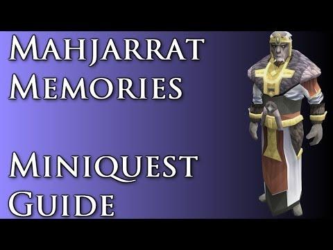 RSMini: Mahjarrat Memories Miniquest Guide