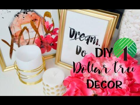 Dollar Tree DIY (Easy Room & Office Decor) under $15!