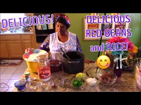 MISSISSIPPI STYLE RED BEANS AND RICE! You'll LOVE it!