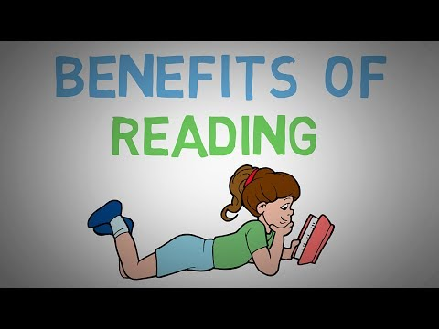 Why You Should Read Books  - The Benefits of Reading More (animated)