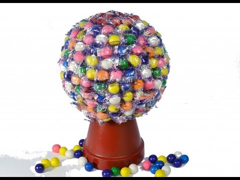 How to Make a Gumball Machine Candy Bouquet | RadaCutlery.com