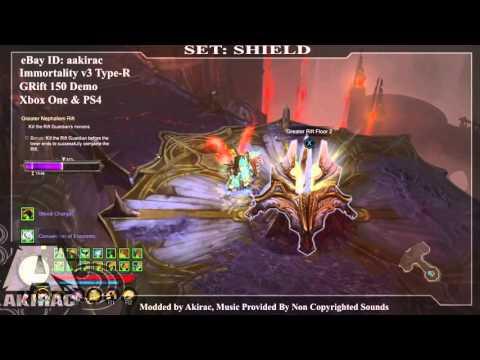 Ps4 Diablo 3 Mods Xbox One - Immortality V3 Shield GRIFT 150  - http://www.akirac.com