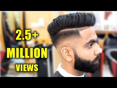 Skin Fade Pompadour Tutorial | Men's Haircut & Hairstyle 2018 - SALON 11