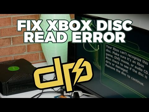 Fix Original Xbox Disc Read Error