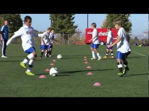 Soccer Training - Passing Drills 1