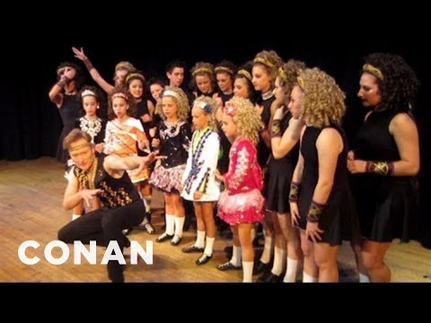 Behind The Scenes: Conan Learns How To Irish Step Dance  - CONAN on TBS