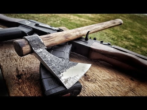 Making a Wrapped Tomahawk