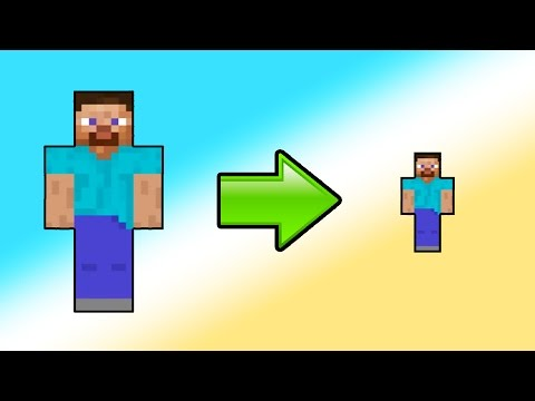 HOW TO SHRINK IN MINECRAFT