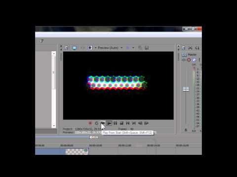 Sony Vegas Pro 10 - How To Make A Cool Intro