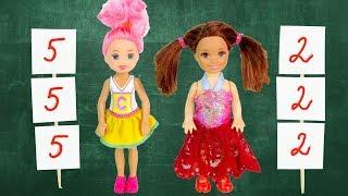 Download ПОМЕНЯЛИСЬ ТЕЛАМИ НА ОДИН ДЕНЬ Мультик #Барби Куклы Про Школу Игрушки Для детей #IkuklaTV Video