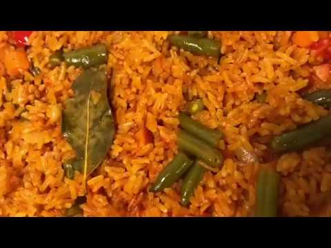 How To Cook JOLLOF RICE WITH GHANAIAN TOUCH
