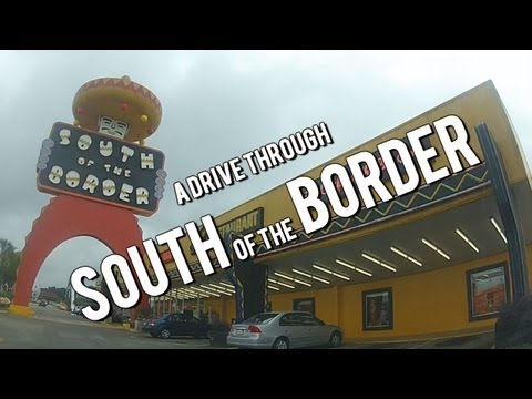 LET'S DRIVE! A Drive Through South of the Border, South Carolina - Great Roadside Attractions