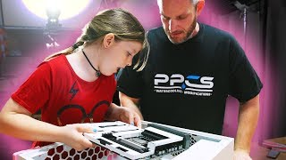 8 Year Old Builds Overkill Gaming PC