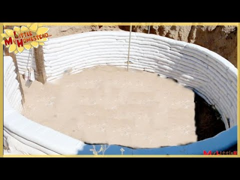 Building Considerations - Strengthen the Walls | Underground Earthbag Building Ep 3 | Weekly Peek