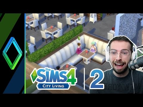 The Sims 4 City Living / Dine Out | Part 2