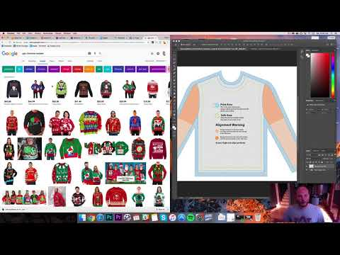 Ugly Christmas Sweaters - Print On Demand E-Commerce Viral Strategy